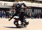 Exhibición de la policía